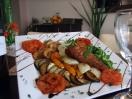 Novinka: Kurací steak a grilovaná zelenina