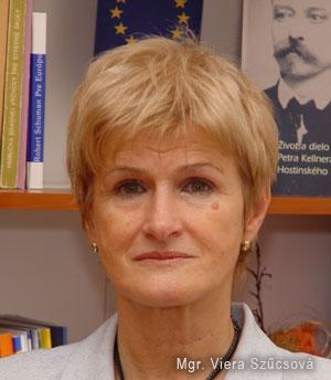 Mgr. Viera Szűcsová