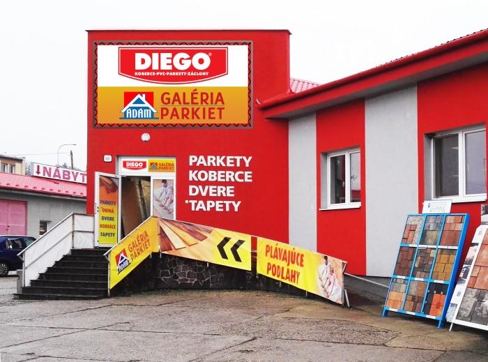 Predajňa Diego Rimavská Sobota