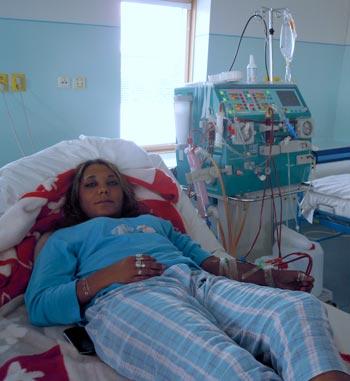 Gabika na dialýze