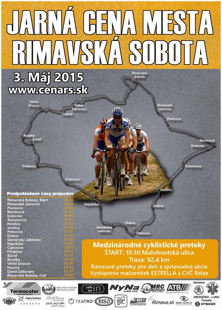 JARNÁ CENA MESTA RIMAVSKÁ SOBOTA @ Malohontská ulica Rimavská Sobota | Rimavská Sobota | Slovenská republika