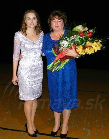 Marta Svobodová s dcérou Lýdiou
