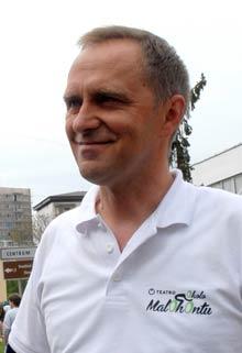 Riaditeľ pretekov Jozef Juhaniak