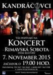 Kandráčovci @ Divadelná sála Domu kultúry Rimavská Sobota | Rimavská Sobota | Slovensko