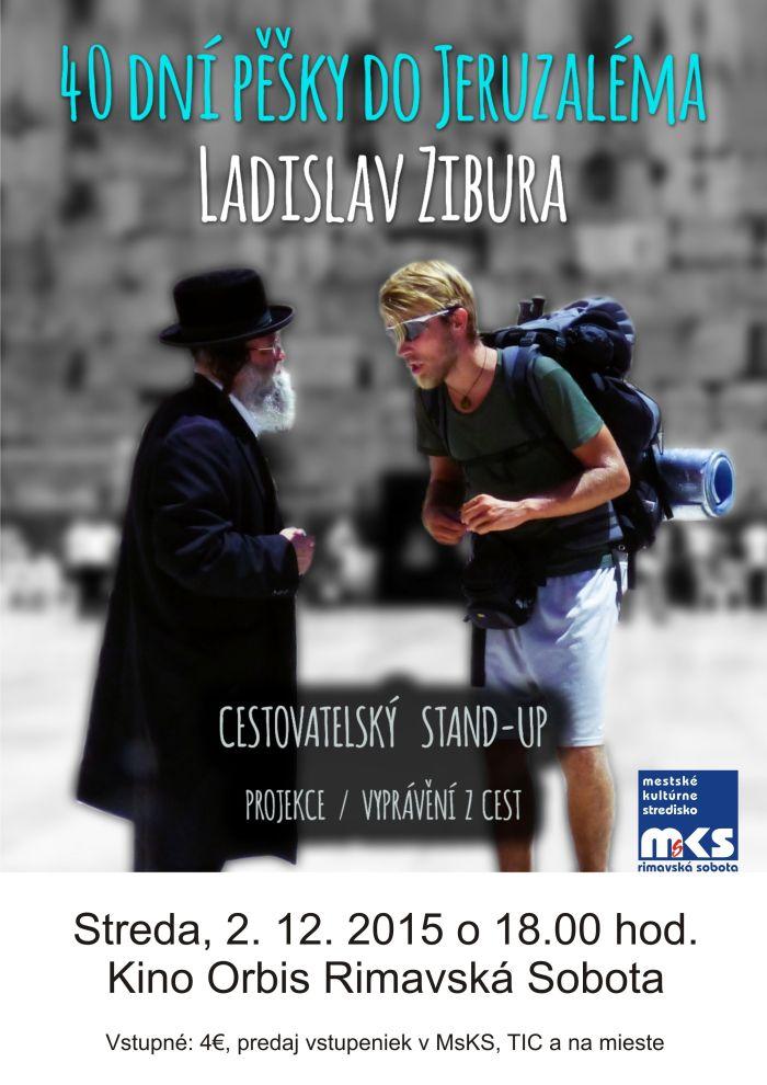 40 dní pěšky do Jeruzalému @ Kino Orbis | Rimavská Sobota | Slovensko