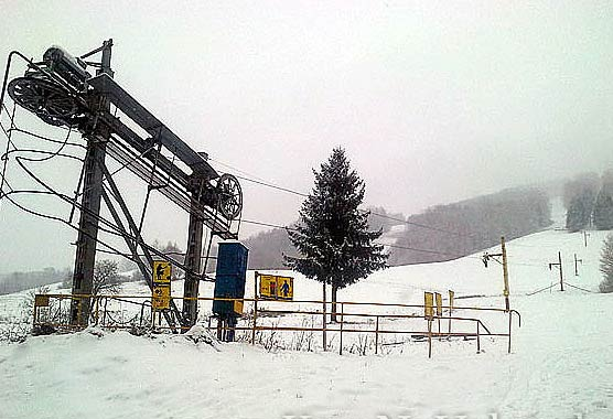 Lyžiarske stredisko Tisovec Rejkovo/ FOTO: KamNaVylet.sk