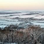 Rozhľadňa Maginhrad  január