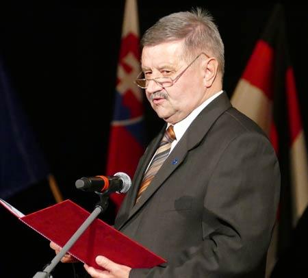predseda OZTK Dezider Balajthy