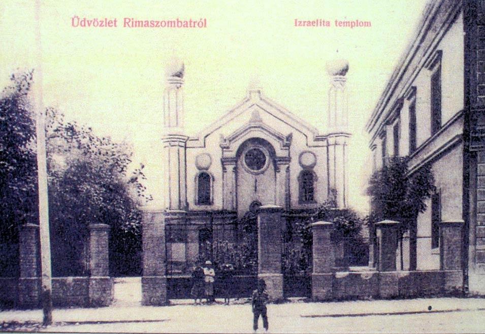 Bildergebnis für rimavska sobota synagoga