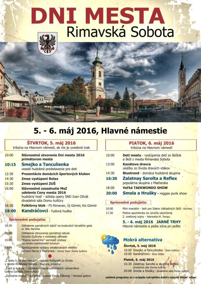 Dni mesta Rimavská Sobota @ Rimavská Sobota | Banskobystrický kraj | Slovensko