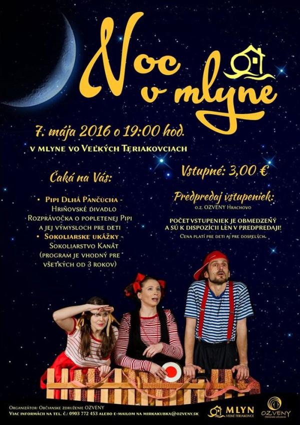 Noc v Mlyne @ Mlyn Veľké Teriakovce | Veľké Teriakovce | Banskobystrický kraj | Slovensko