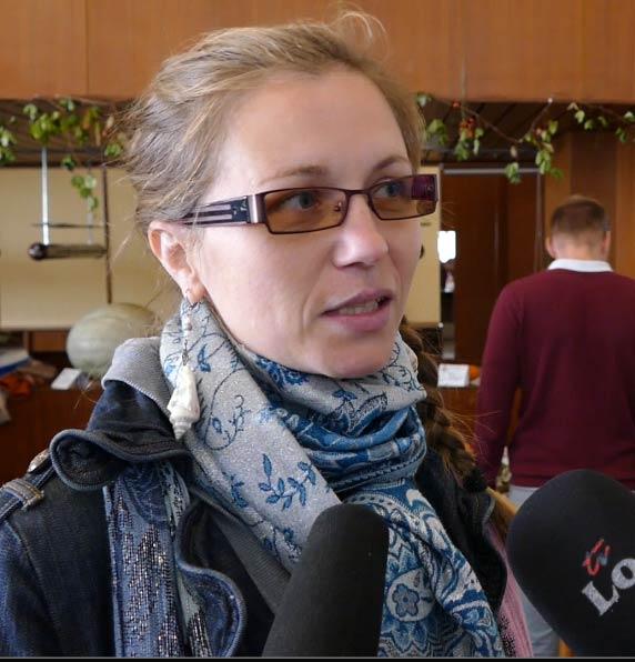 usporiadateľka a vystavovateľka Kristína Rimavcová Fratriečová