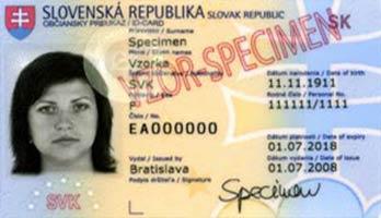 Občiansky preukaz - ilustračné foto