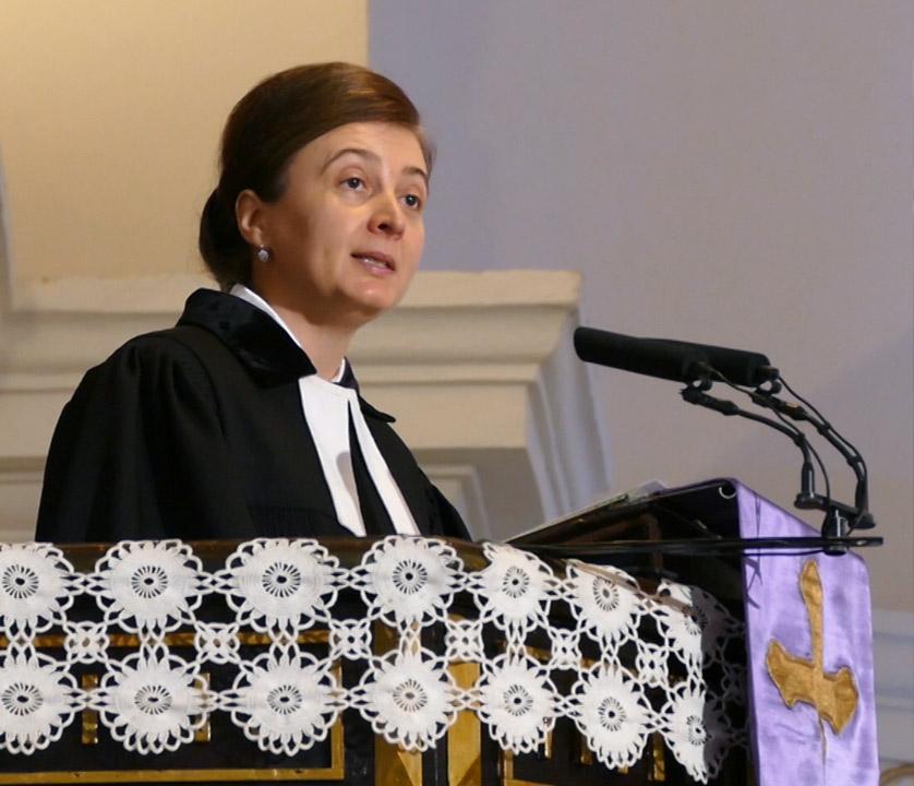 seniorka Rimavského seniorátu ECAV Mgr. Viktória Lisáková
