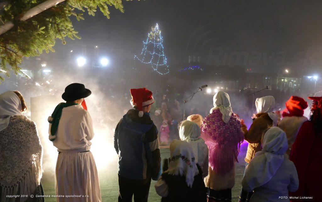 Vianočný stromček Hlavné námestie