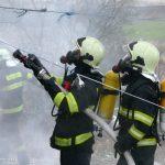 V Hodejove vyhorel rodinný dom