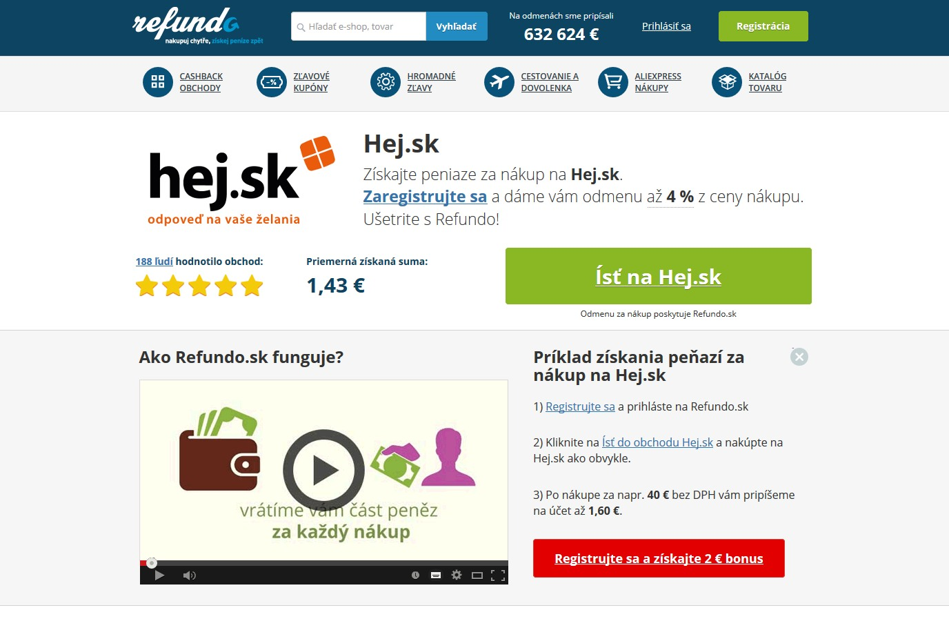 Možnosť online zárobku z privedenia nových zákazníkov. Refundo.sk ... 0aa3884a531