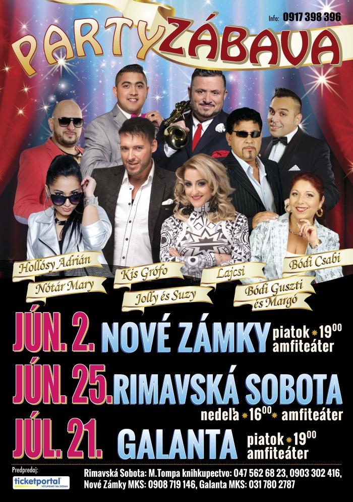 Party zábava @ Amfiteáter Rimavská Sobota | Rimavská Sobota | Slovensko