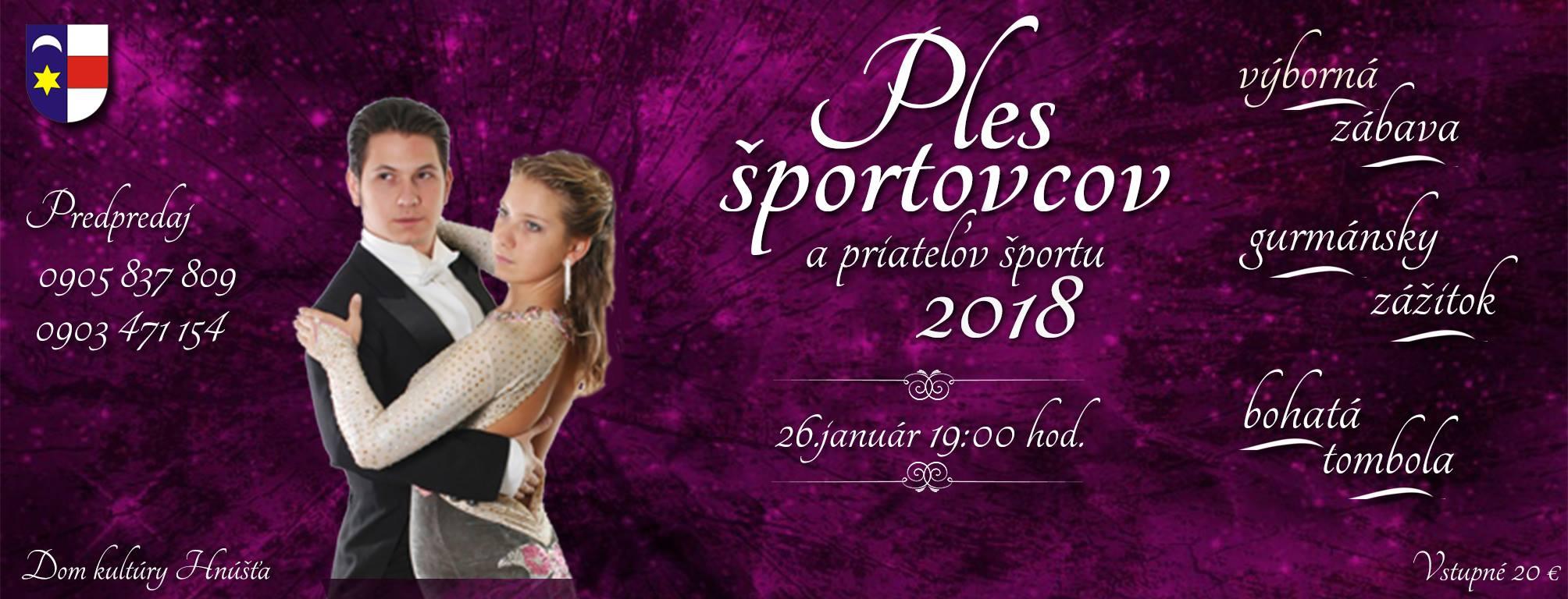 Ples športovcov a priateľov športu @ MsKS Hnúšťa