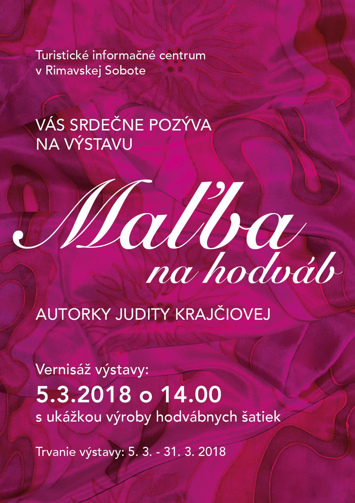 Maľba na hodváb @ Rimavská Sobota | Banskobystrický kraj | Slovensko