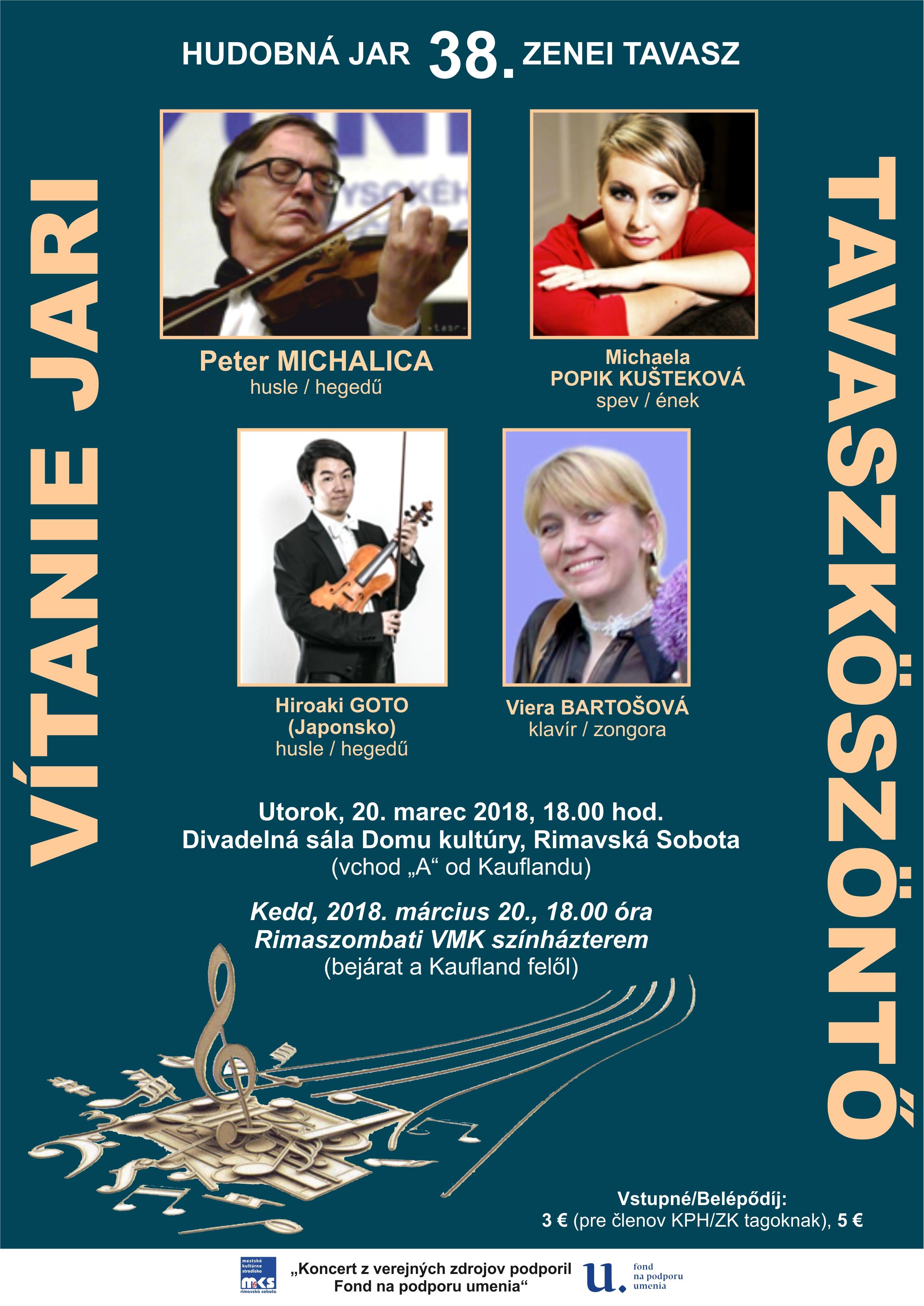 Koncert husľových virtuózov @ divadelná sála DK | Rimavská Sobota | Banskobystrický kraj | Slovensko