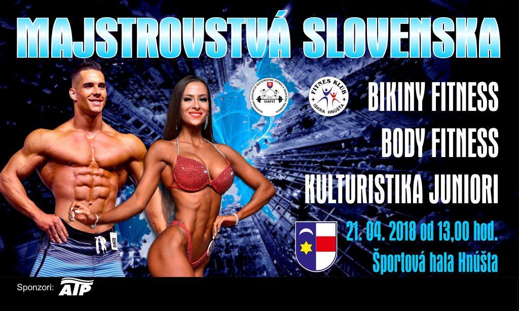 Majstrovstvá Slovenska juniorov - Fitness @ športová hala Hnúšťa | Hnúšťa | Banskobystrický kraj | Slovensko