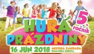 Hurá prázdniny 2018 @ Mestská záhrada | Rimavská Sobota | Slovensko
