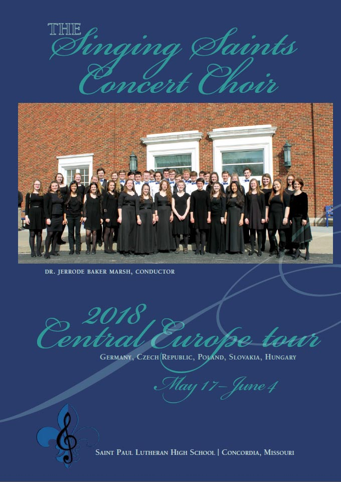 "Spevokol ""Singing Saints"" zo Saint Paul Lutheran High School z USA @ Evanjelický kostol v Tisovci | Banskobystrický kraj | Slovensko"