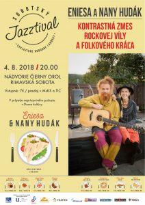 Eniesa a Nany Hudák @ Nádvorie Čierny orol Rimavská Sobota | Banskobystrický kraj | Slovensko