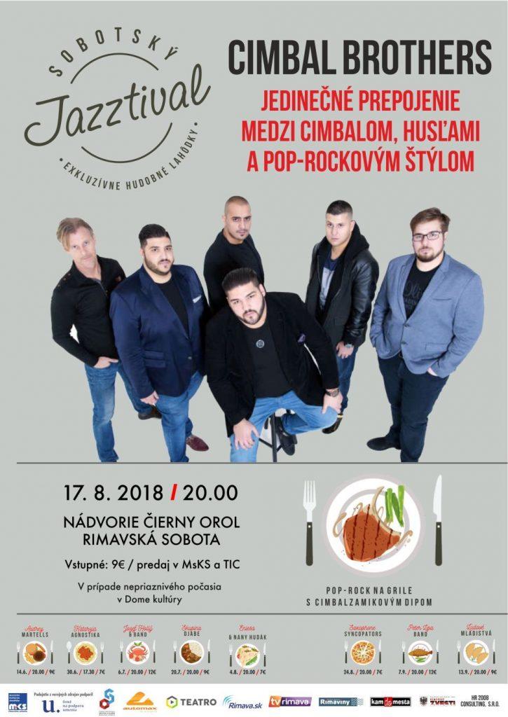 Cimbal Brothers @ Nádvorie Čierny orol Rimavská Sobota | Banskobystrický kraj | Slovensko