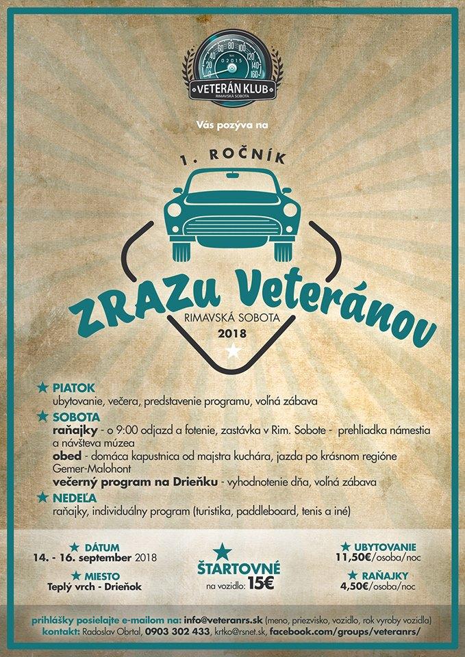 Zraz veteránov @ Drieňok - Teplý Vrch | Teplý Vrch | Banskobystrický kraj | Slovensko