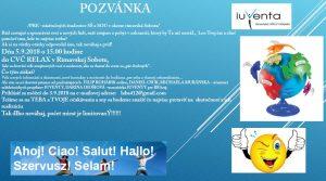 Pozvánka - Do sveta za pár drobných @ CVČ Relax Rimavská Sobota | Banskobystrický kraj | Slovensko