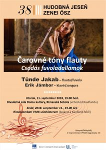 Čarovné tóny flauty @ Divadelná sála Domu kultúry Rimavská Sobota | Slovensko