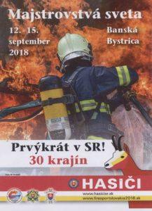 Majstrovstvá sveta v hasičskom športe @ Banská Bystrica | Banská Bystrica | Banskobystrický kraj | Slovensko