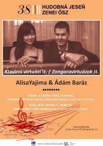 Klavírni virtuózi II. @ Divadelná sála Domu kultúry Rimavská Sobota | Slovensko