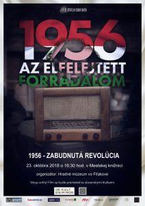 Premietanie filmu s názvom 1956 – Zabudnutá revolúcia @ Mestská knižnica vo Fiľakove, Hlavná ul. 14 | Banskobystrický kraj | Slovensko