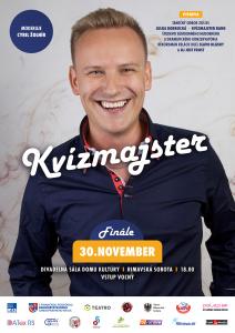 Kvízmajster III - Finále @ Divadelná sála Domu kultúry Rimavská Sobota, Námestie Š. M. Daxnera, 979 01 Rimavská Sobota | Slovensko