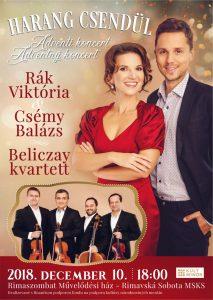 Harang csendül / Adventný koncert @ Divadelná sála Domu kultúry Rimavská Sobota, Námestie Š. M. Daxnera, 979 01 Rimavská Sobota | Slovensko