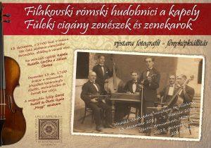"Otvorenie výstavy ""Fiľakovskí rómski hudobníci a kapely "" @ Mestské vlastivedné múzeum"