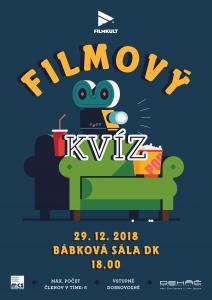 Filmový kvíz - Filmkult @ Bábková sála, Dom kultúry, Námestie Š. M. Daxnera, 97901 Rimavská Sobota | Slovensko