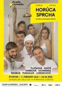 Horúca sprcha @ Divadelná sála Domu kultúry Rimavská Sobota, Námestie Š. M. Daxnera, 979 01 Rimavská Sobota