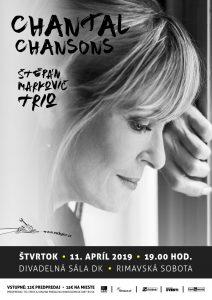 Chantal Poullain: Šansóny @ Divadelná sála Domu kultúry Rimavská Sobota