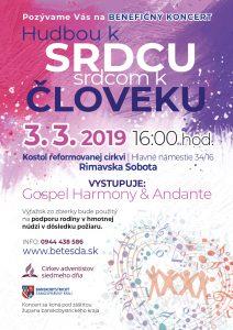 Benefiční koncert – Hudbou k srdcu, srdcom k človeku @ Kostol reformovanej cirkvi
