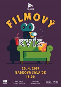 Filmový kvíz II – Filmkult @ Bábková sála, Dom kultúry, Námestie Š. M. Daxnera, 97901 Rimavská Sobota