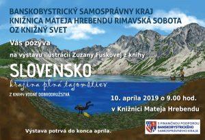 Slovensko – krajina plná tajomstiev : Mapovanie vodného bohatstva @ Knižnica Mateja Hrebendu, Hlavné námestie 8, Rimavská Sobota 97901