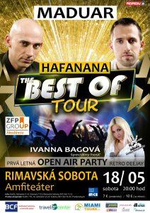 MADUAR - Hafanana The Best Of Tour 2019 @ amfiteáter Rimavská Sobota