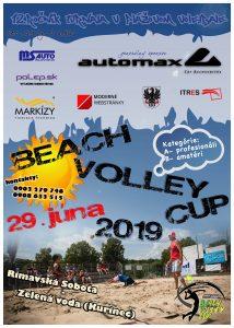 12. Ročník Beach Volley Cup @ Rekreačná oblasť Kurinec - Zelená voda