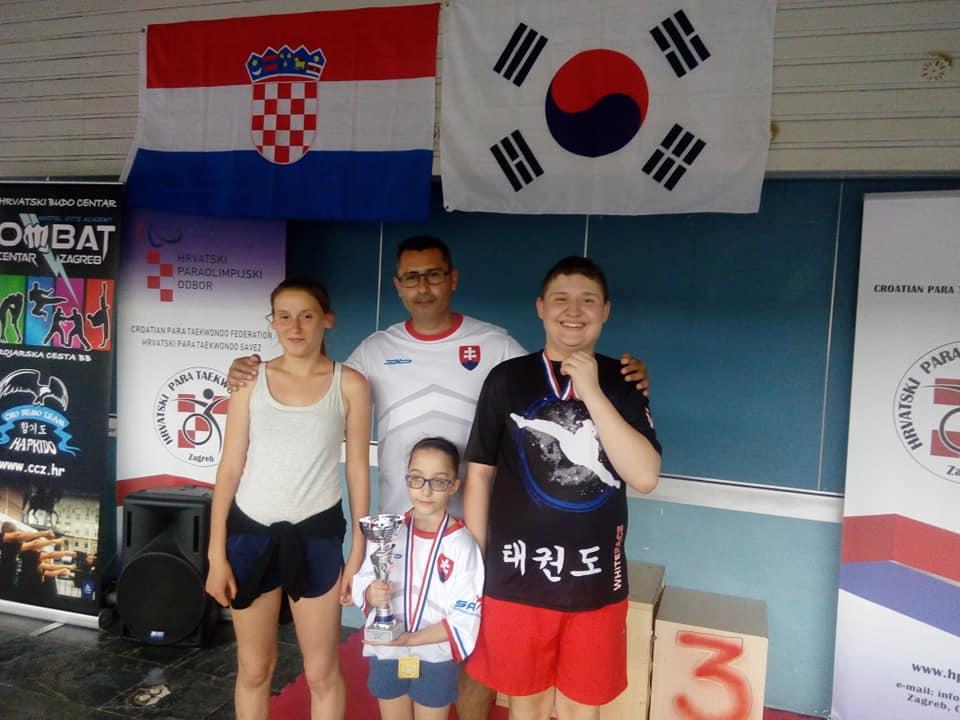 d42d8af194588 Reprezentanti Slovenska Para Taekwondo si priniesli z Chorvátska ...