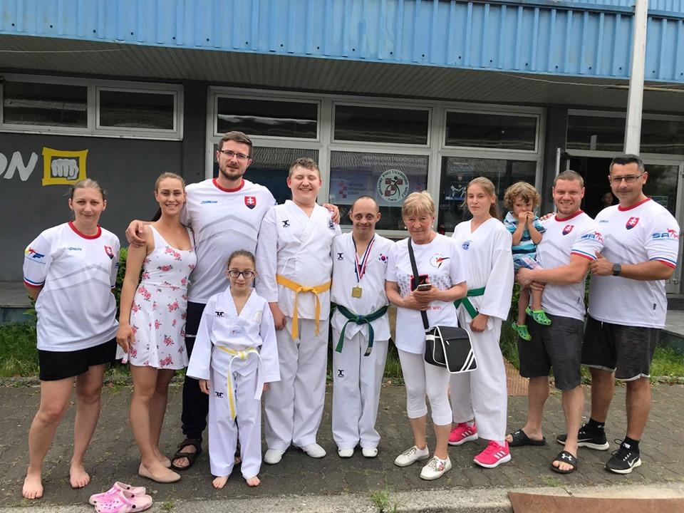 c8ef1ff6bd256 Reprezentanti Slovenska Para Taekwondo si priniesli z Chorvátska cenné kovy