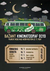 Bažant kinematograf 2019 @ Hlavné námestie, Rimavská Sobota